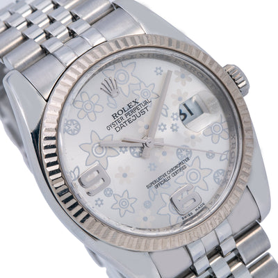 Rolex Datejust 116234 Silver Dial With Stainless Steel Jubilee Bracelet