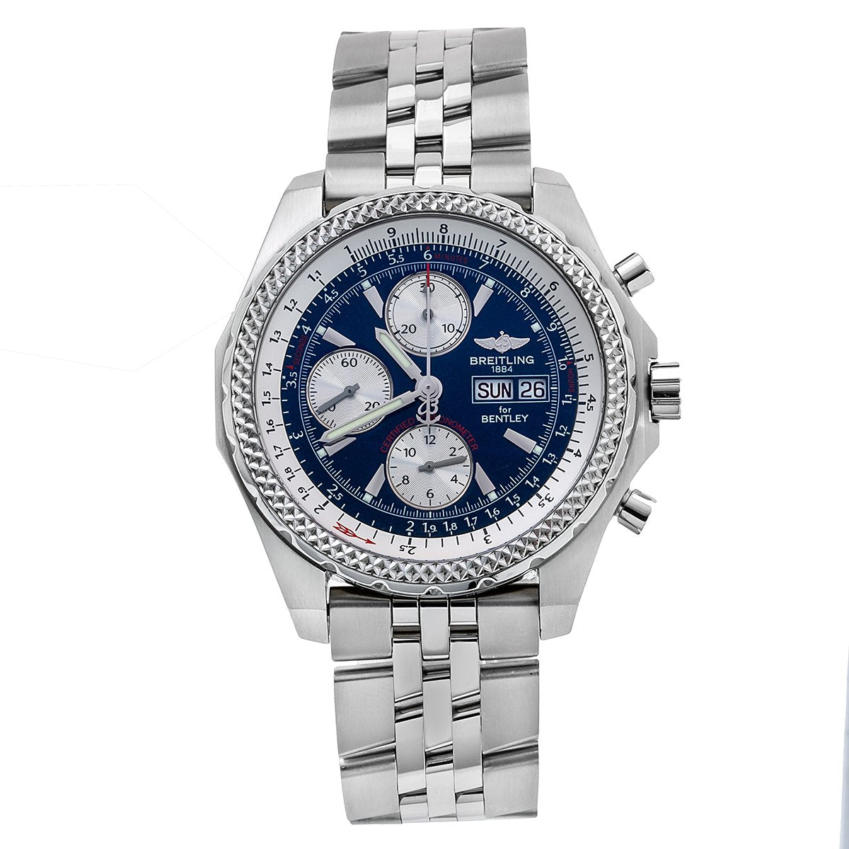 Breitling Bentley GT A1336313 44mm Blue Dial