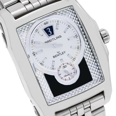 Breitling Bentley Flying B A28362 39mm White Dial