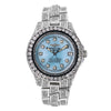 Breitling Colt Oceane A57350 33mm BlueMother of Pearl with 8.0CT Diamonds Watch