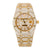 Audemars Piguet Royal Oak 15454BA 33MM Champagne Diamond Dial With 17.95 CT Diamonds