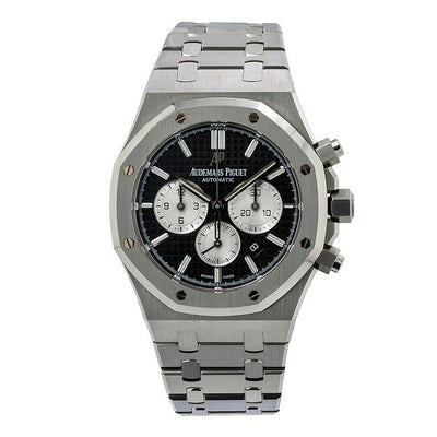 Audemars Piguet Royal Oak Chronograph 26331ST 41MM Black Dial With Stainless Steel Bracelet