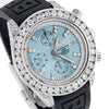 Breitling Chronomat Evolution A13356 42MM Blue MOP Dial With 10.00 CT Diamonds