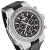 Breitling Bentley GMT A47362 49MM Black Dial With Rubber Bracelet