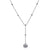 "18K White Gold Women's Necklace, 20"" chain"