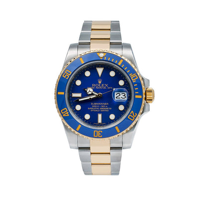 Rolex Submariner Date 116613LB 40MM Blue Dial With Two Tone Bracelet