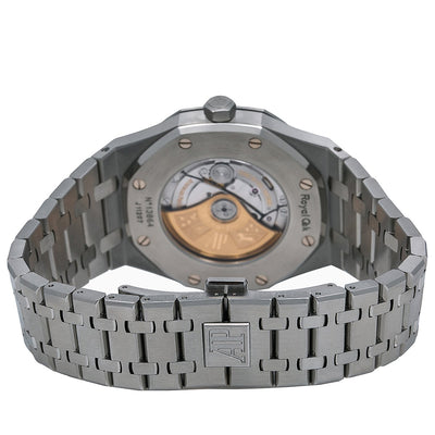 Audemars Piguet Royal Oak Self Winding 15400ST 41MM Black Dial With Stainless Steel Bracelet