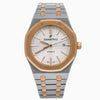 Audemars Piguet Royal Oak Selfwinding 15400SR 41MM White Dial With Two Tone Bracelet