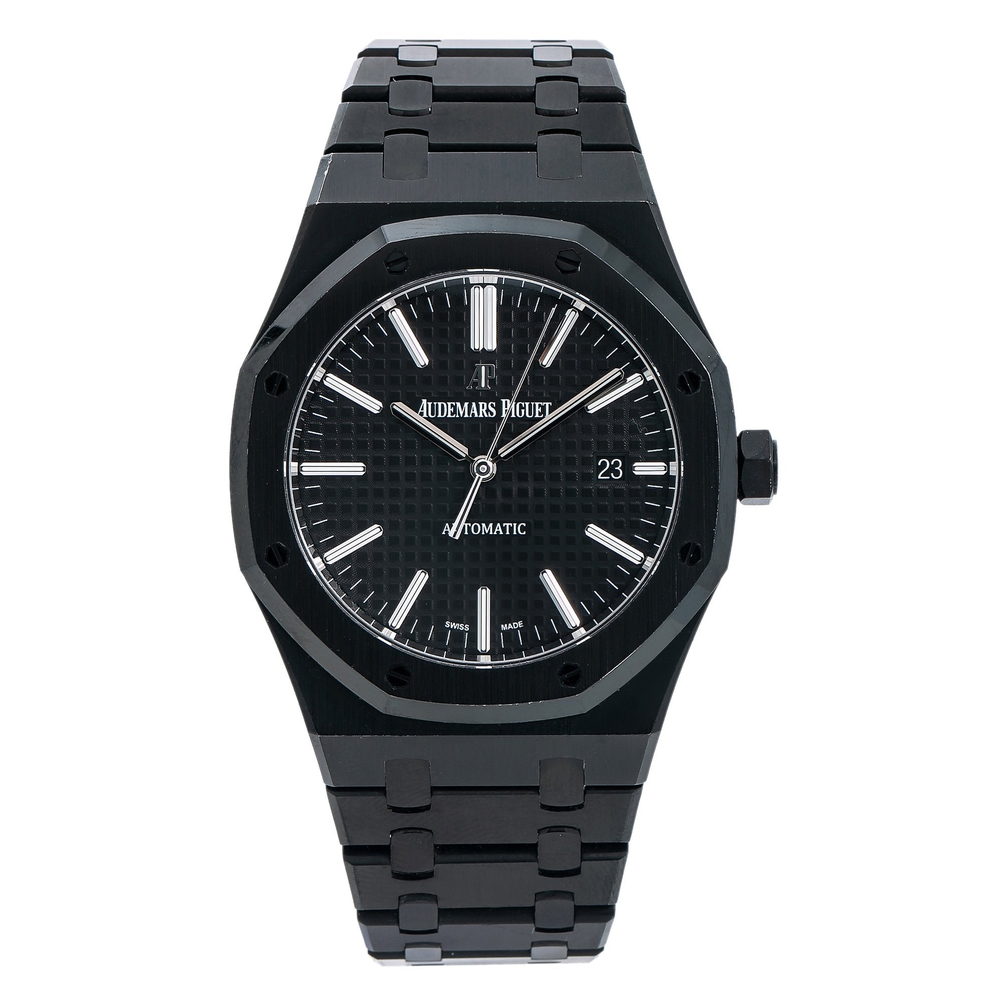 Audemars Piguet Royal Oak Selfwinding 15400ST 41MM Black Dial With Stainless Steel Bracelet