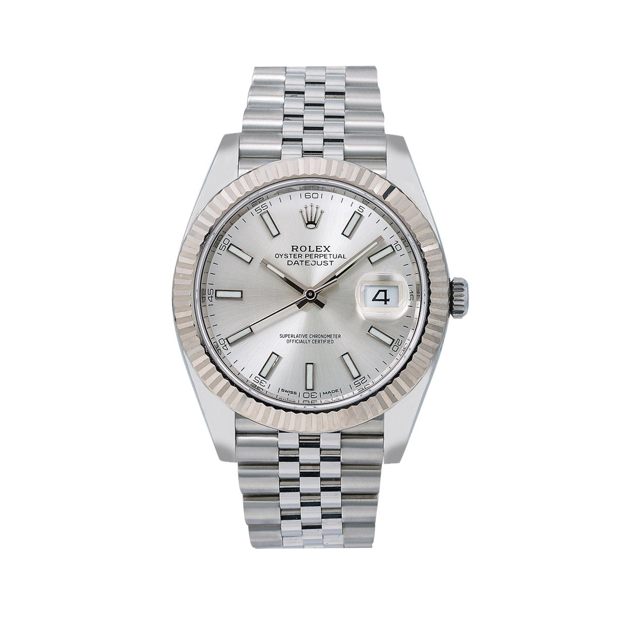 Rolex Datejust 126334 41MM Silver Dial With Stainless Steel Jubilee Bracelet