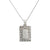 Unisex 14K White Gold Pendant with 2.25 CT Diamonds