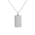 Unisex 14K White Gold Pendant with 4.09 CT Diamonds