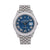 Rolex Datejust Diamond Watch, 126300 41mm, Blue Diamond Dial With Stainless Steel Jubilee Bracelet