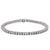 14K WHITE GOLD WOMEN'S BRACELET WITH 8.25 CT DIAMONDS