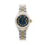 Rolex Datejust Diamond Watch, 6917 26mm, Blue Diamond Dial With Two Tone Jubilee Bracelet
