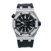 Audemars Piguet Royal Oak Offshore Diver 15703ST 42MM Black Dial With 1.75 CT Diamonds