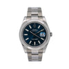Rolex Datejust II 116300 41MM Blue Dial With Stainless Steel Oyster Bracelet