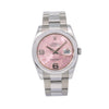 Rolex Datejust 116200 36MM Pink Floral Dial With Stainless Steel Oyster Bracelet