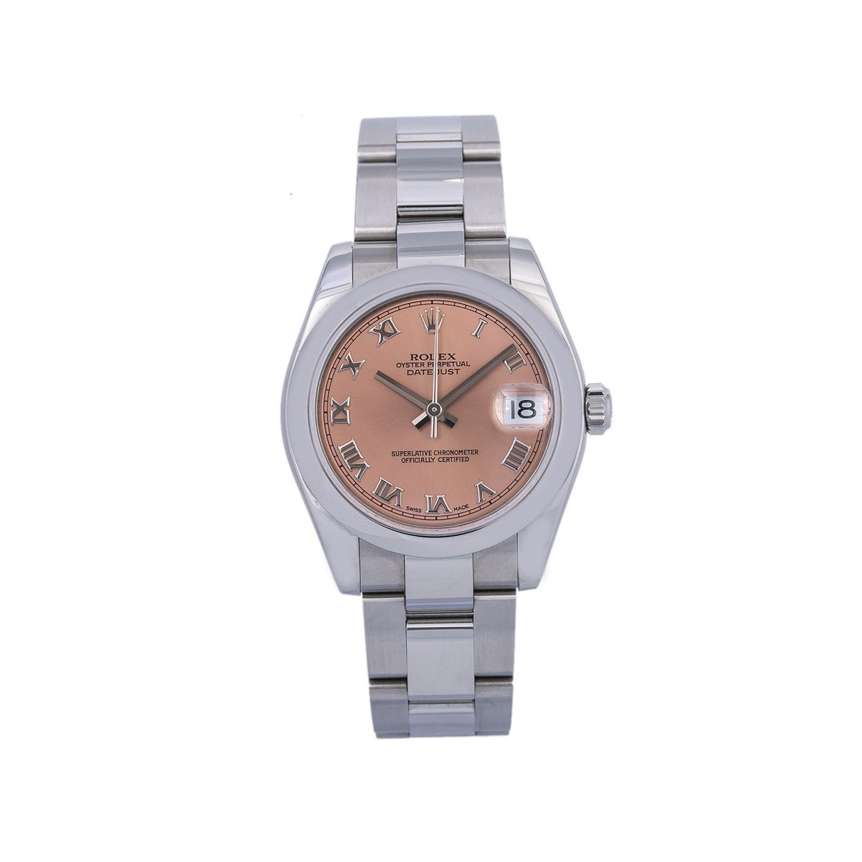 Rolex Lady-Datejust 178240 31MM Pink Dial With Stainless Steel Oyster Bracelet