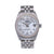 Rolex Datejust Diamond Watch, 68240, Silver Custom Diamond Mother of Pearl Dial With Stainless
