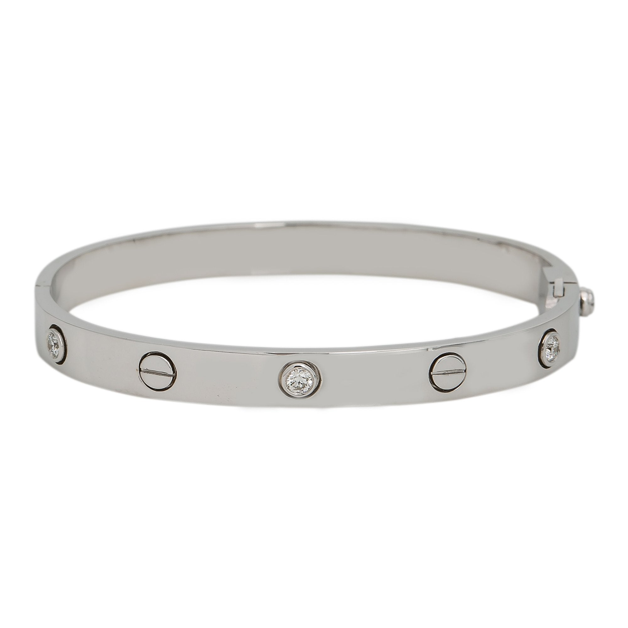 18K WHITE GOLD WOMEN'S BRACELET WITH 0.5 CT DIAMONDS