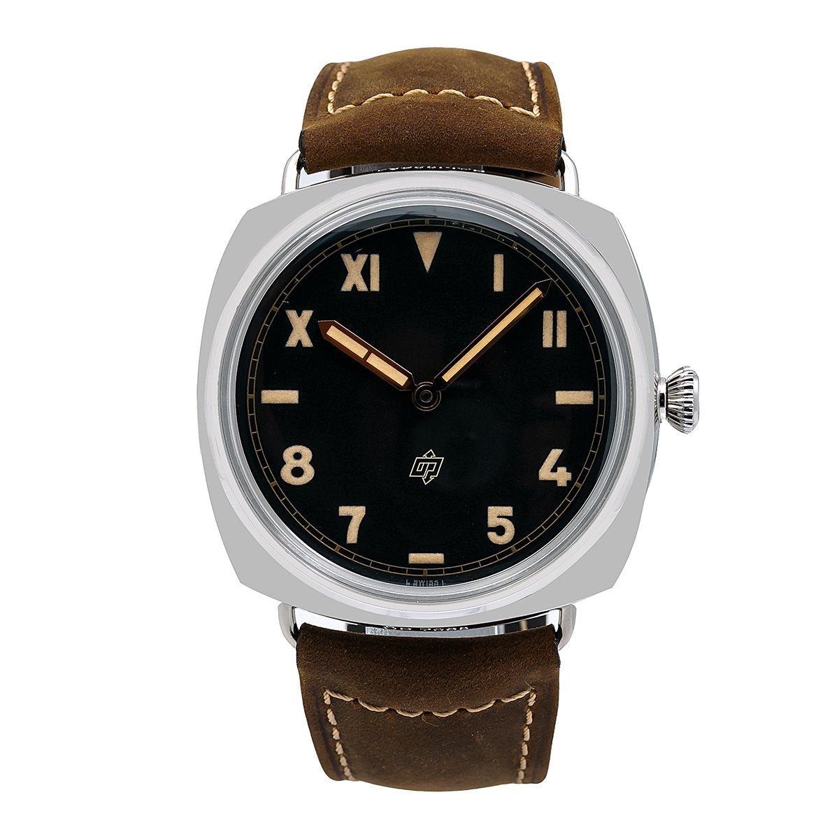 Panerai Radiomir 3 Days 47MM PAM00424 Black Dial With Brown Leather Bracelet