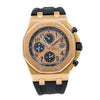Audemars Piguet Royal Oak Offshore Chronograph 2640OR 44MM Champagne Dial With Rubber Bracelet