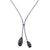 18K White Gold Women's Necklace with 15.21 CT Diamonds