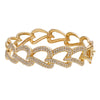 "14K Yellow Gold BGR00448 2.25"" Women's Bracelet With 2.35 CT Diamonds"