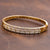 14K Yellow Gold Women's Bracelet With 1.70 CT Diamonds