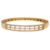 "14K Yellow Gold BGR00449 2.5"" Women's Bracelet With 1.70 CT Diamonds"