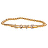 "14K Rose Gold Bl1814G 2.5"" Women's Bracelet With 0.25 CT Diamonds"