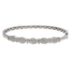 "14K White Gold BGR00447 2.5"" Women's Bracelet With 1.18 CT Diamonds"