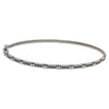 "18K White Gold NBG0458-BL 2.5"" Women's Bracelet With 1.81 CT Diamonds"