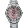 Rolex Datejust 16014 36MM Pink Diamond Dial With 5.75 CT Diamonds