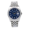 Rolex Datejust 116234 36MM Blue Diamond Dial With 1.20 CT Diamonds