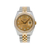 Rolex Datejust 116243 36MM FACTORY Champagne Diamond Dial With Two Tone Jubilee Bracelet