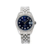 Rolex Datejust 178240 31MM Blue Diamond Dial With 1.25 CT Diamonds