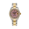 Rolex Datejust 178273 31MM Pink Diamond Dial With 1.05 CT Diamonds