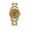 Rolex Datejust 68273 31MM Champagne Diamond Dial With 1.15 CT Diamonds