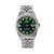 Rolex Datejust Diamond Watch, 1603 36mm, Green Diamond Dial With 1.20 CT Diamonds