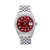 Rolex Datejust Diamond Watch, 16014 36mm, Red Diamond Dial With 1.20 CT Diamonds