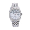 Rolex Datejust 116200 36MM Silver Diamond Dial With 1.75 CT Diamonds