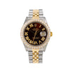 Rolex Datejust 16013 36MM Brown Diamond Dial With 3.75 CT Diamonds