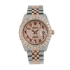 Rolex Datejust 116231 36MM Champagne Diamond Dial With 17.25 CT Diamonds