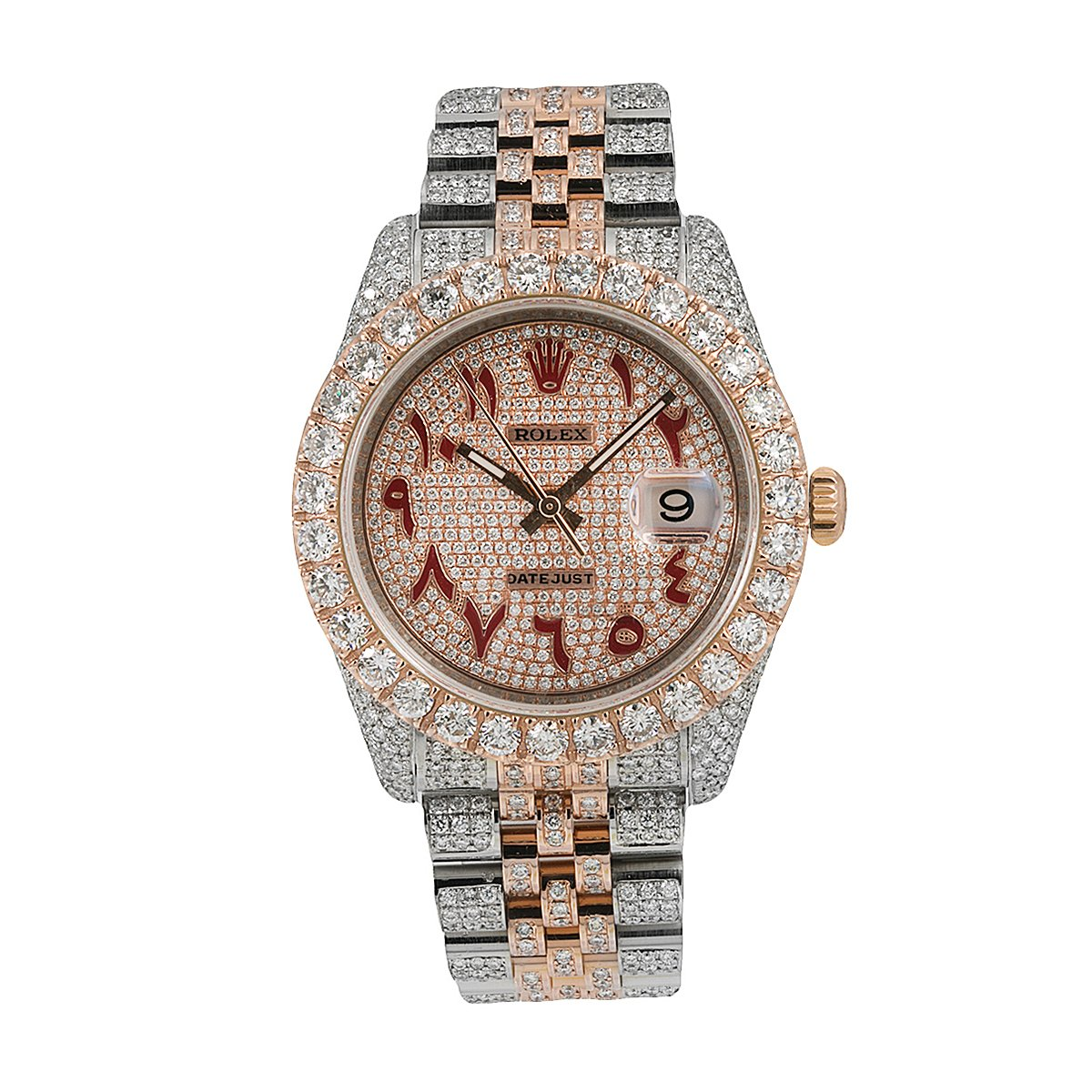 Rolex Datejust Diamond Watch, 116231 36mm, Champagne Diamond Dial With 17.25 CT Diamonds