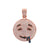 14k Rose Gold Pendant with 2.7 Ct Diamonds
