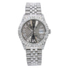 Rolex Datejust 16014 36MM Grey Diamond Dial With 1.20 CT Diamonds