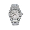 Audemars Piguet Royal Oak 15451ST 37MM White Dial With Stainless Steel Bracelet