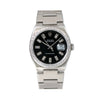 Rolex Datejust 17000 36MM Black Diamond Dial With 1.25 CT Diamonds